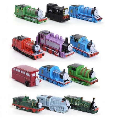 Fine Thomas Friends Cake Topper Thomas Train 12 Mini Figure Set Birthday Party Cupcakes Figurines Trains Fast Shipping 1 5 2 Inch Toy Doll Set Download Free Architecture Designs Scobabritishbridgeorg