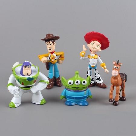 Toy Story Cake Topper Woody Buzz Lightyear Jessie Bullseye 5