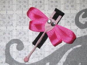 "NEW /""NAUTICAL ANCHOR/"" Girls Ribbon Hairbow Clip Grosgrain Bow Sculpture Water"