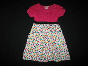 "NEW """"MAGENTA GUMBALL"""" Sun Dress Summer Clothes 4 Spring Boutique Pockets"