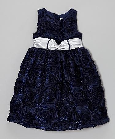 Rare Editions Christmas Dresses.New Dark Navy Soutache Dress Girls Clothes 6 Fall Winter Boutique Christmas Holiday Party Rare Editions