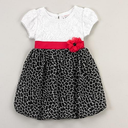 "NEW ""GIRAFFE LACE"" Dress Girls Clothes 2T Spring Summer Boutique Kids Beach Youngland"
