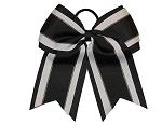 """NEW /""""GLITTER BALLET/"""" Mini Cheer Bow Pony Tail Ribbon Girls Hair Dance Ballerina"""