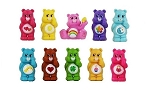 Care Bears CAKE TOPPER Carebears Love-a-Lot Cheer Wish Tenderheart 10 Figure Set Birthday Party Cupcakes Mini Figurines * FAST Shipping * Toy Doll Set