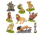 Lion King CAKE TOPPER Simba Nala Mufasa Scar Timon Pumba 9 Figure Set Birthday Party Cupcakes Figurines Disney * FAST Shipping * Toy Doll Set