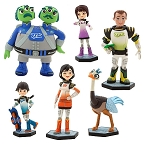 Miles From Tomorrowland CAKE TOPPER Loretta Phoebe Leo Merc 6 Figure Set Birthday Party Cupcakes Figurines Disney * FAST Shipping * Toy Doll Set