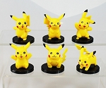 Pikachu Pokemon Go CAKE TOPPER 6 Figure Set Birthday Party Cupcakes Figurines Monsters * FAST Shipping * Toy Doll Set