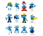 Smurfs CAKE TOPPER 12 Figure Set Birthday Party Favors Cupcakes Toppers Figurines * FAST Shipping * Toy Doll Set