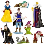 Snow White CAKE TOPPER Dwarfs Queen Witch 8 Figure Set Birthday Party Cupcakes Figurines Disney * FAST Shipping * Toy Doll Set