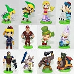 Legends of Zelda Link Playset 12 Figure Set Birthday Party Cupcakes Figurines Disney * Fast Shipping * Breath of the Wild Spirit Tracks Toy Doll Set