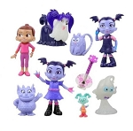 Vampirina CAKE TOPPER Hauntley Wolfie Poppy Demi Gregoria Disney Playset 9 Figure Birthday Party Cupcakes Figurines *FAST SHIPPING* Toy Doll Set