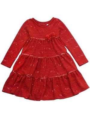 Rare Editions Christmas Dresses.New Dazzling Ruby Roses Holiday Dress Girls 3t Winter Clothes Rare Editions Toddler Christmas