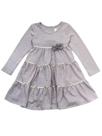 """NEW """"DAZZLING SILVER ROSES"""" Holiday Dress Girls 6X Fall Winter Clothes Rare Edit"""